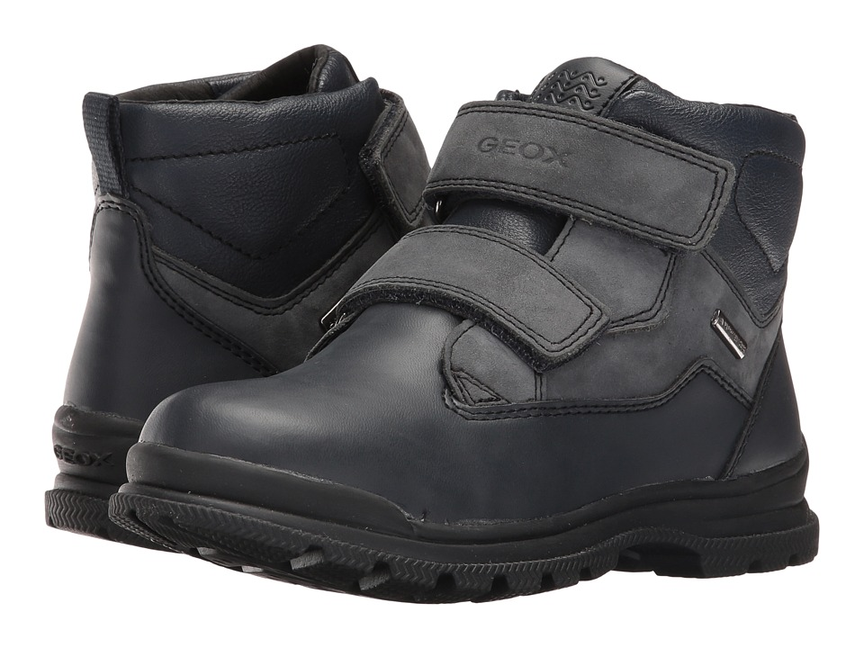 Geox Kids - Jr William B ABX 5 Waterproof (Little Kid/Big Kid) (Navy/Blue) Boy's Shoes