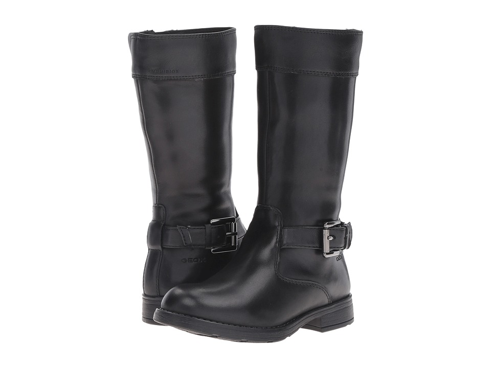 Geox Kids - Jr Sofia B ABX 10 Waterproof (Little Kid) (Black) Girl's Shoes
