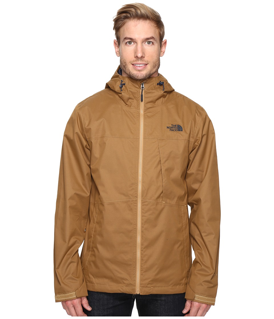 The North Face - Arrowood Triclimate Jacket (Dijon Brown) Men's Coat
