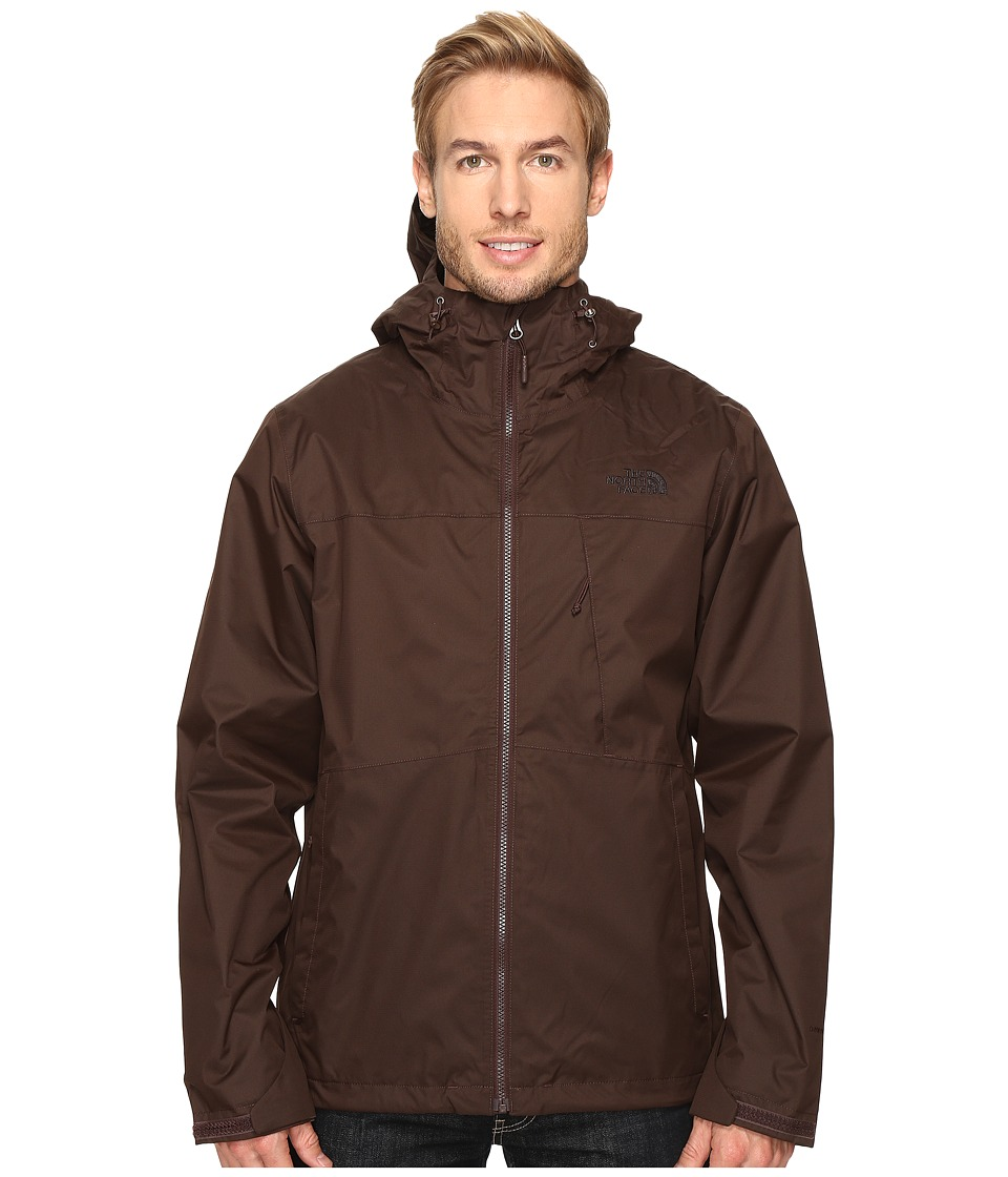 The North Face - Arrowood Triclimate Jacket (Coffee Bean Brown) Men's Coat