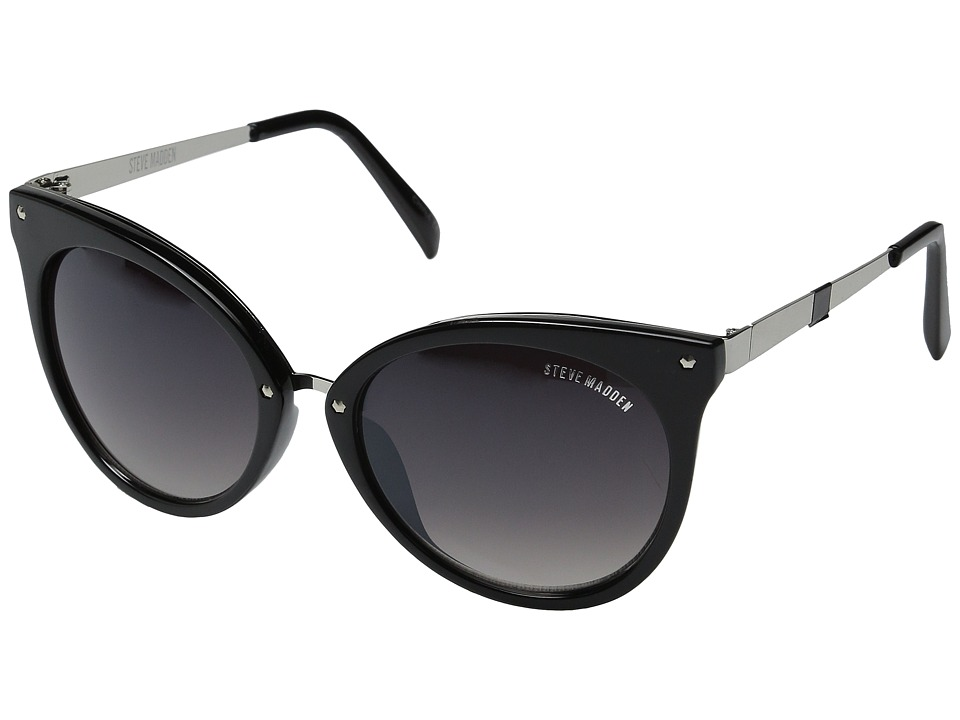 Steve Madden - Alison (Black) Fashion Sunglasses