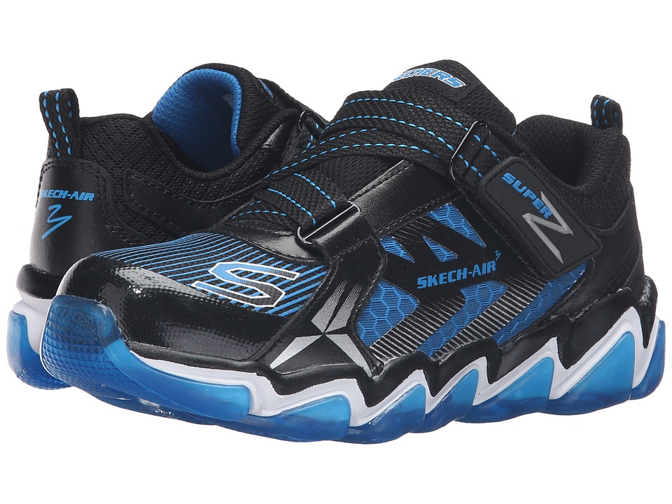 SKECHERS KIDS - Skech Air 3.0 97412L (Little Kid/Big Kid) (Black/Blue) Boy's Shoes