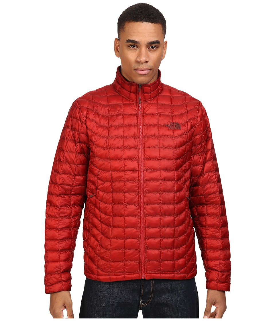 The North Face - ThermoBall Full Zip Jacket (Cardinal Red) Men's Coat