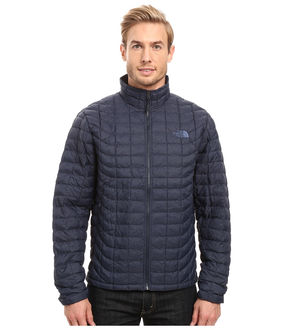 The North Face - ThermoBall Full Zip Jacket (Urban Navy Stria) Men's Coat