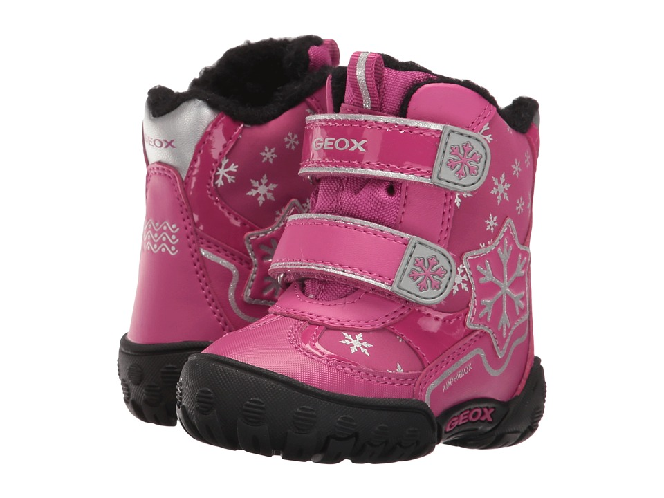 Geox Kids - Baby Gulp B Girl ABX 6 Waterproof (Toddler) (Dark Fuchsia) Girl's Shoes