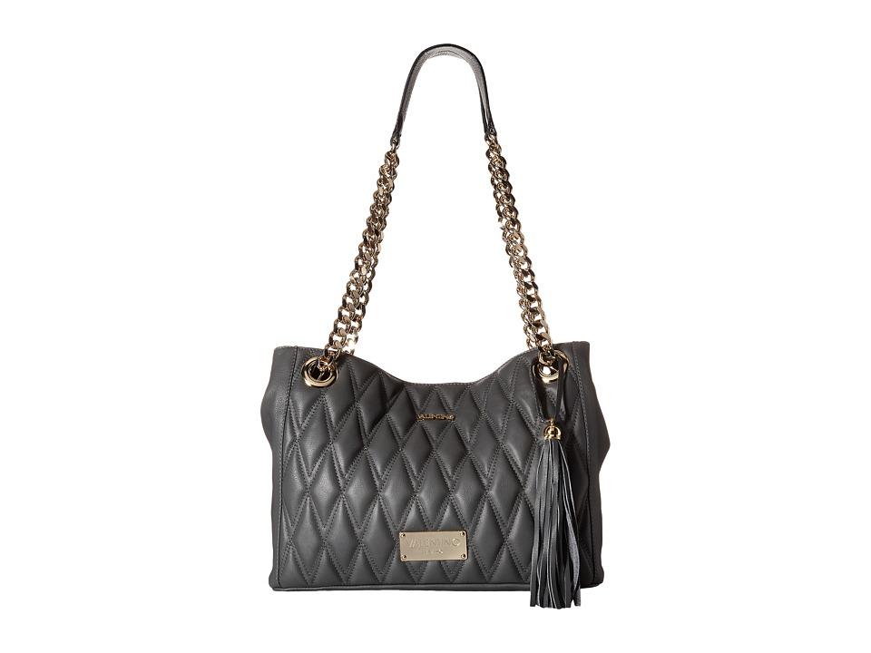 Valentino Bags by Mario Valentino - Luisa (Grey) Shoulder Handbags
