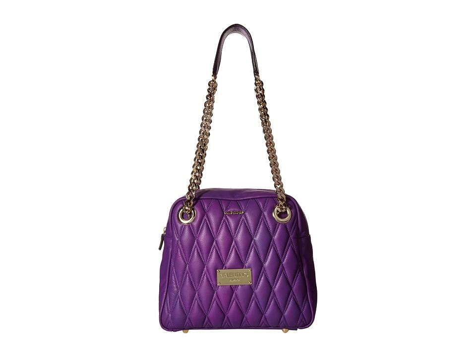 Valentino Bags by Mario Valentino - Palermo II (Violet) Shoulder Handbags
