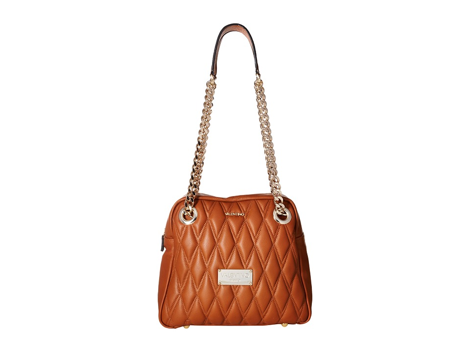 Valentino Bags by Mario Valentino - Palermo II (Dark Whiskey) Shoulder Handbags