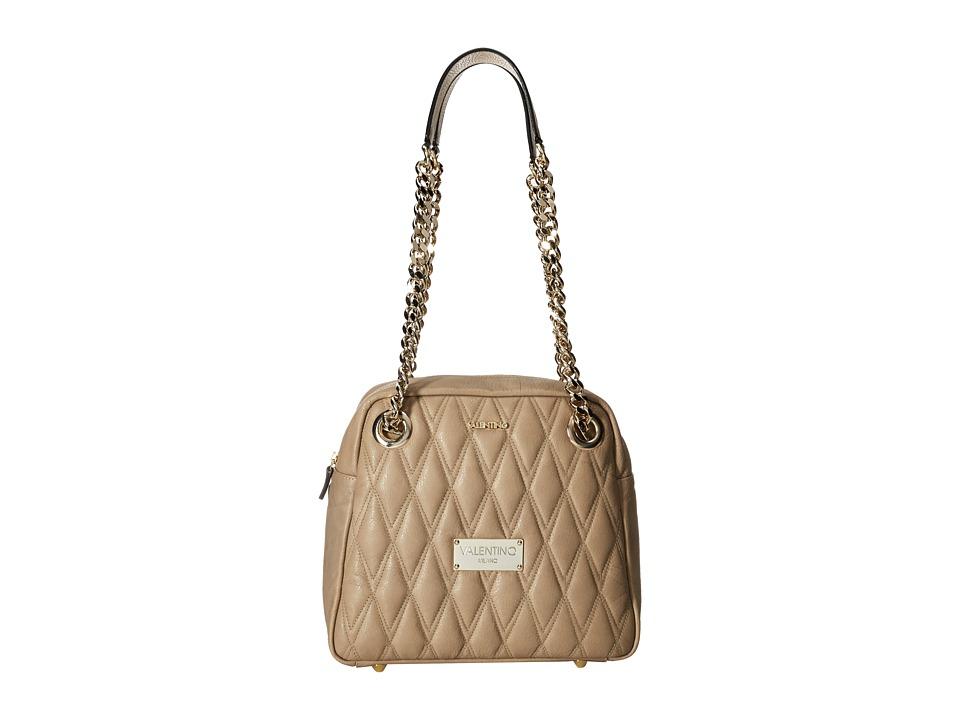 Valentino Bags by Mario Valentino - Palermo II (Taupe) Shoulder Handbags