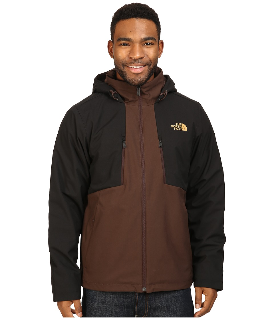 The North Face - Apex Elevation Jacket (Coffee Bean Brown/TNF Black) Men's Coat