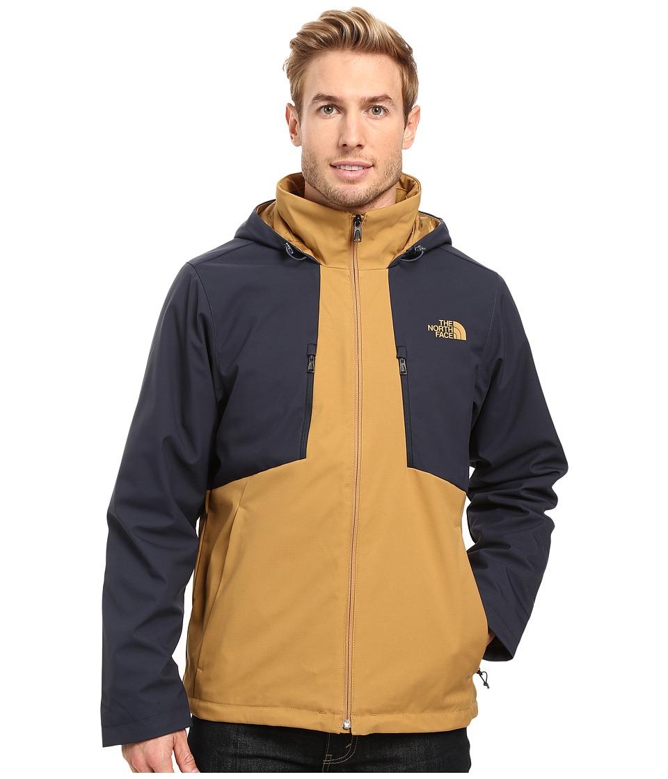 The North Face Apex Elevation Jacket (Dijon Brown/Urban Navy) Men