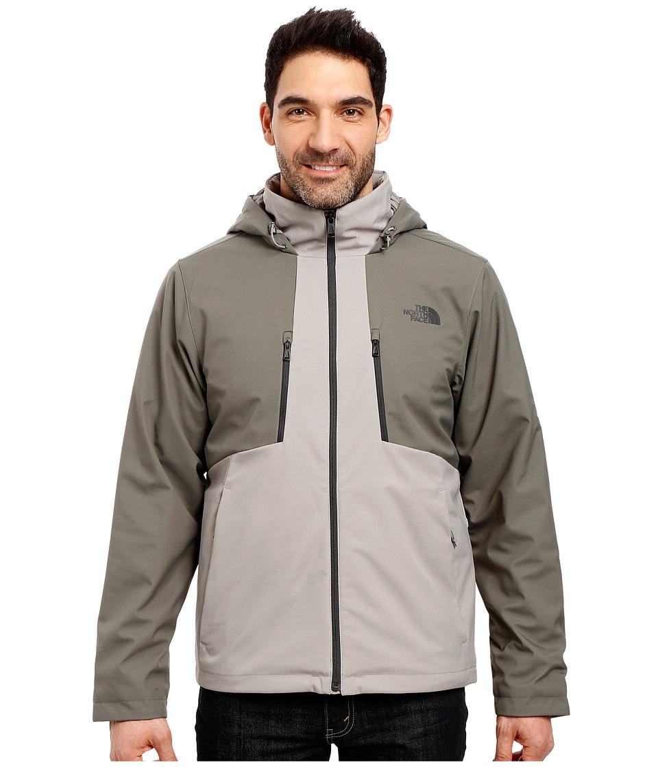 The North Face - Apex Elevation Jacket (Moon Mist Grey/Fusebox Grey) Men's Coat