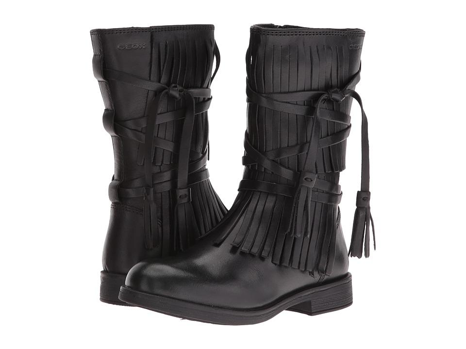 Geox Kids - Jr Agata 16 (Little Kid) (Black) Girl's Shoes