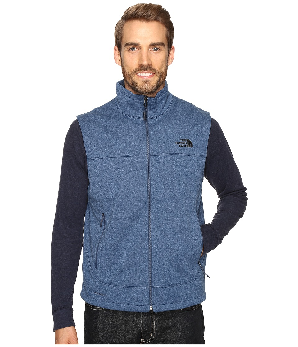 The North Face - Canyonwall Vest (Shady Blue Heather/Shady Blue Heather (Prior Season)) Men's Vest