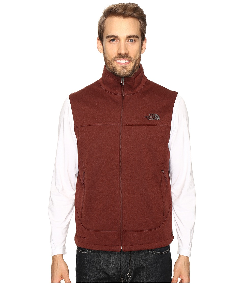 The North Face - Canyonwall Vest (Sequoia Red Heather/Sequoia Red Heather) Men's Vest