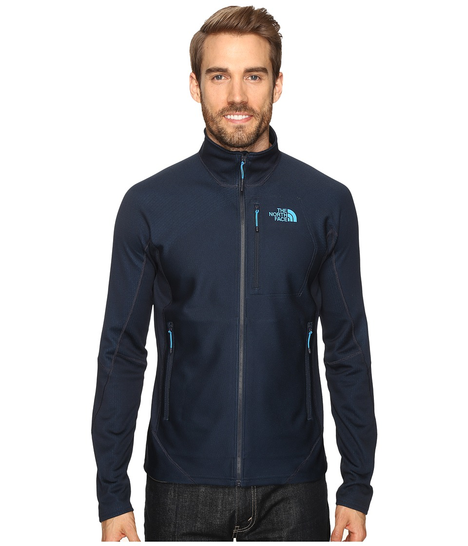The North Face - FuseForm Dolomiti Full Zip (Urban Navy Fuse) Men's Long Sleeve Pullover