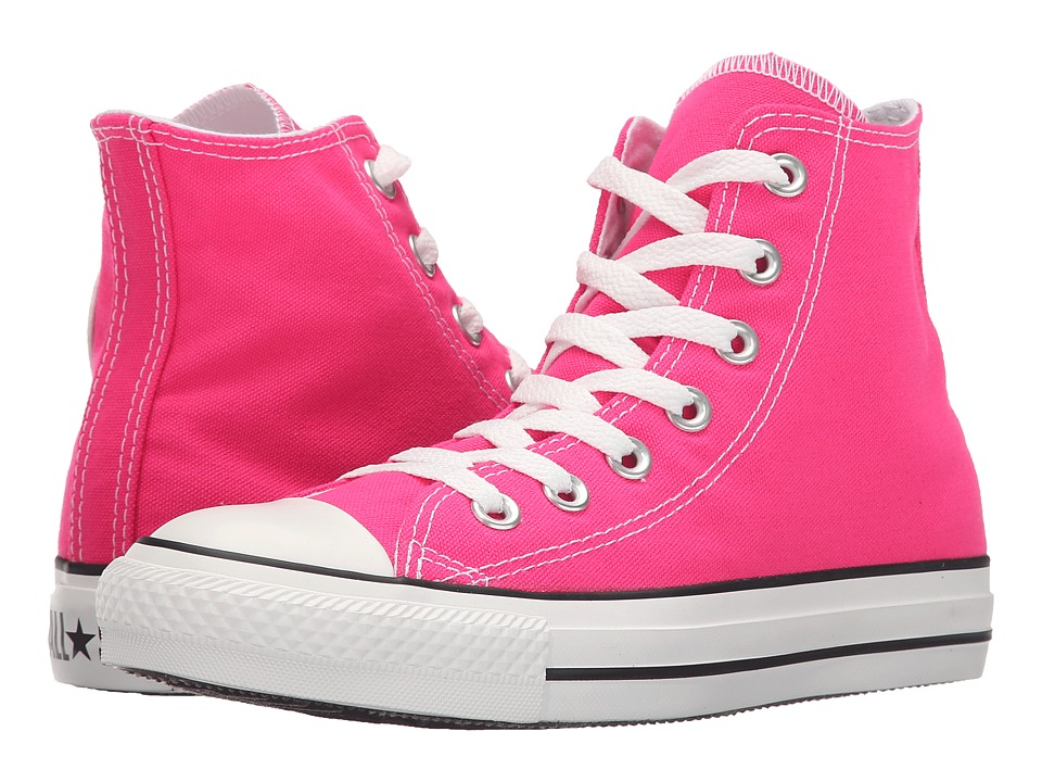 Converse - Chuck Taylor All Star Hi (Pink Glo) Classic Shoes