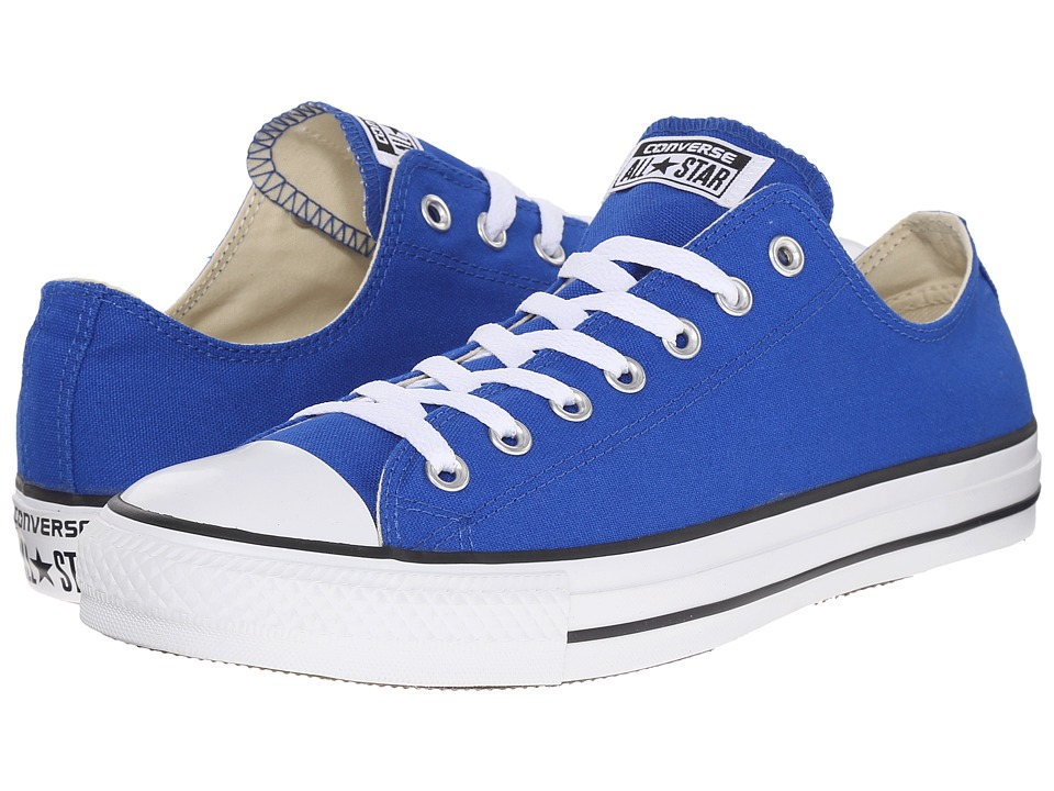 Converse - Chuck Taylor All Star Ox (Blue/White) Lace up casual Shoes