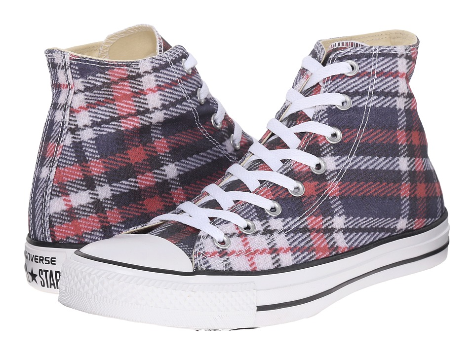 Converse Chuck Taylor All Star Hi (Black/Red/White) Classic Shoes