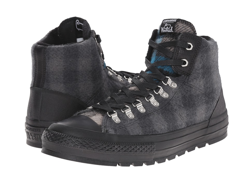 Converse Chuck Taylor All Star Street Hiker (Black/Thunder/Cyan Space) Shoes