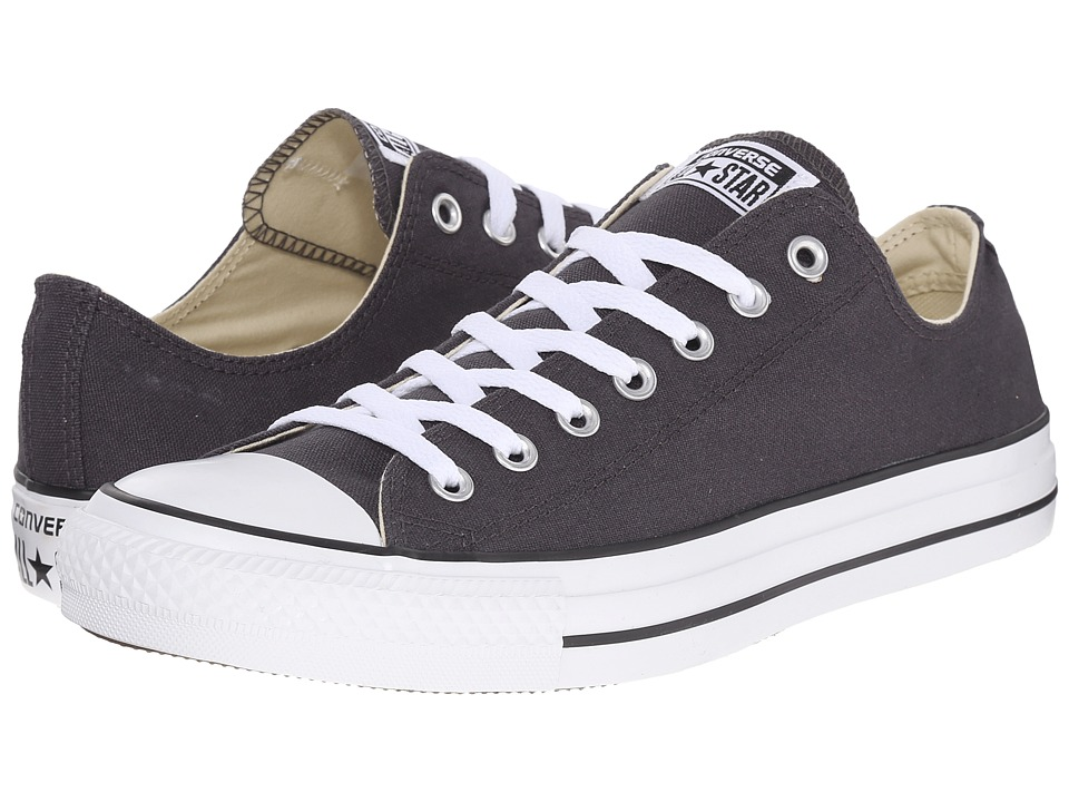 Converse - Chuck Taylor All Star Ox (Steel Gray/White) Lace up casual Shoes