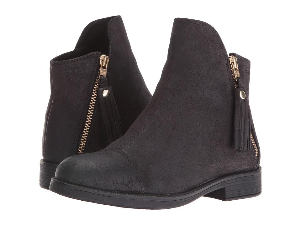 Geox Kids - Jr Agata 13 (Little Kid) (Black) Girl's Shoes