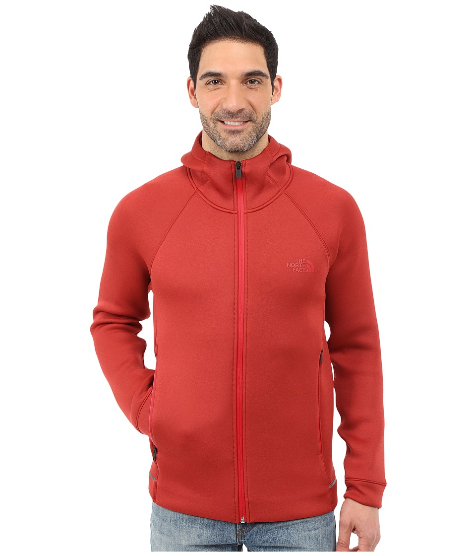 The North Face - Upholder Hoodie (Cardinal Red Heather) Men's Sweatshirt