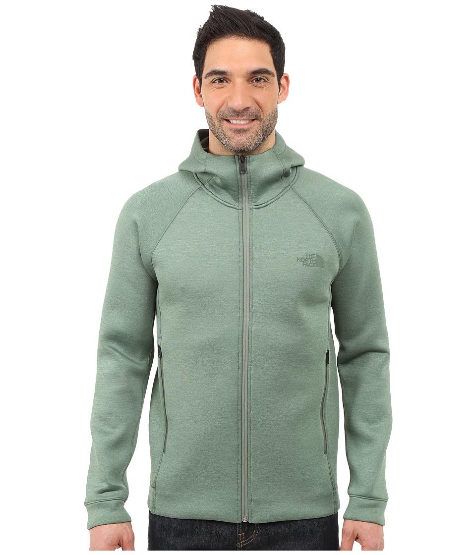 The North Face - Upholder Hoodie (Duck Green Heather) Men's Sweatshirt