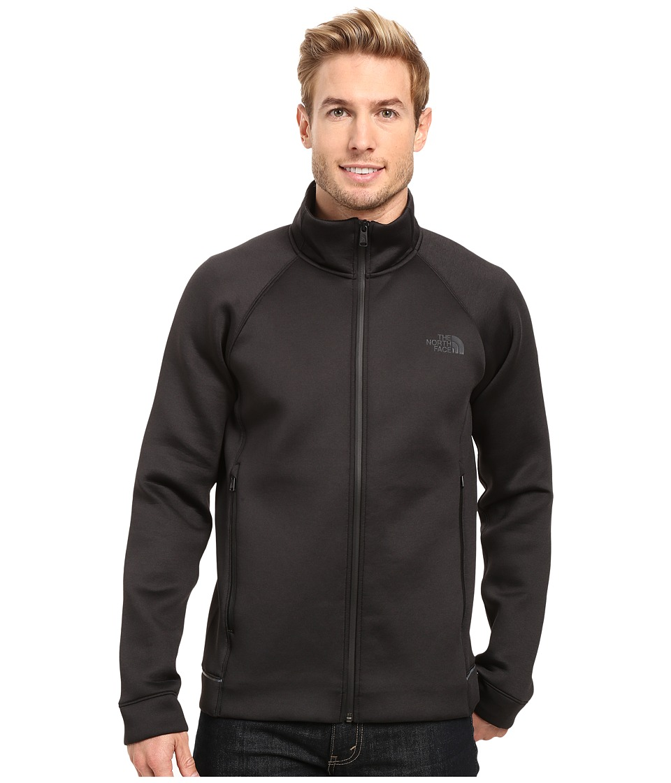 The North Face - Upholder Full Zip (TNF Black Heather) Men's Fleece
