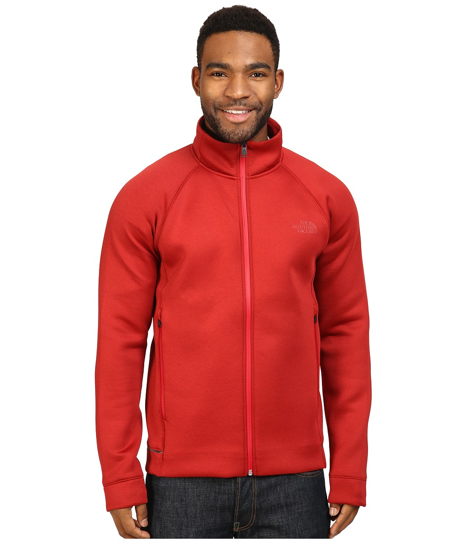 The North Face - Upholder Full Zip (Cardinal Red Heather) Men's Fleece