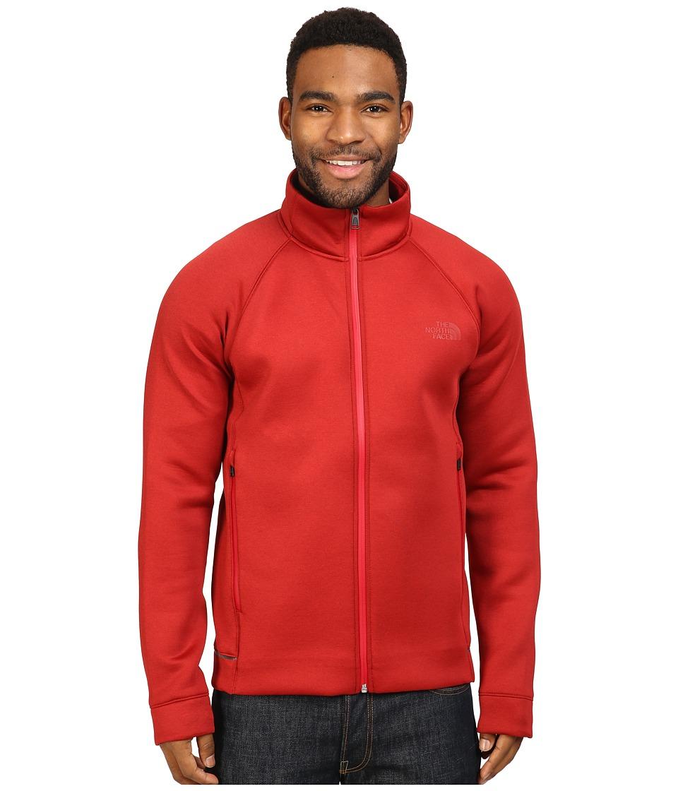 The North Face - Upholder Full Zip (Cardinal Red Heather) Men's Fleece