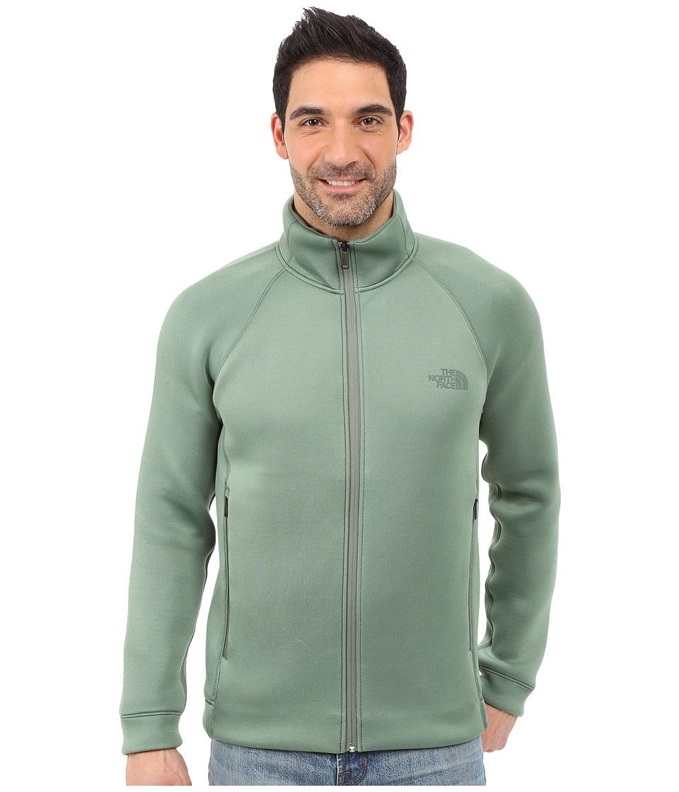 The North Face - Upholder Full Zip (Duck Green Heather) Men's Fleece