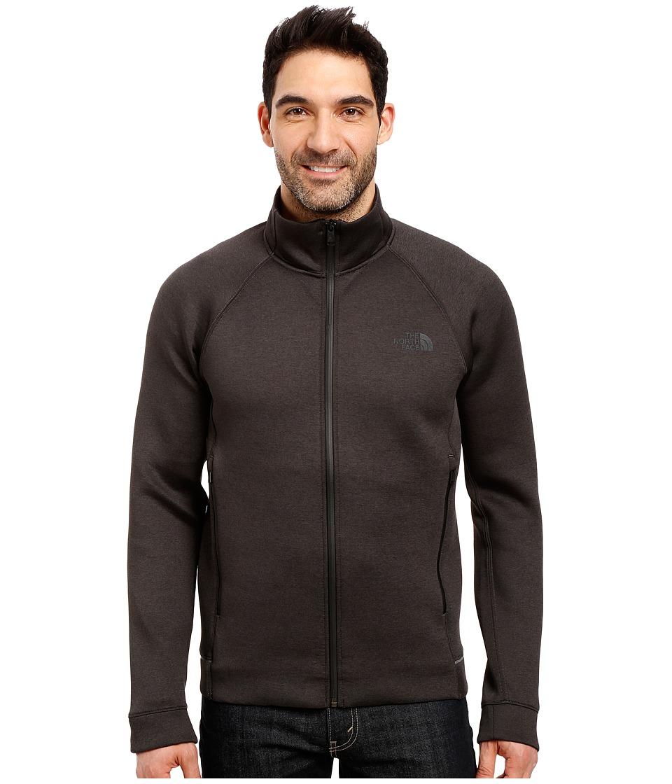 The North Face - Upholder Full Zip (TNF Dark Grey Heather) Men's Fleece