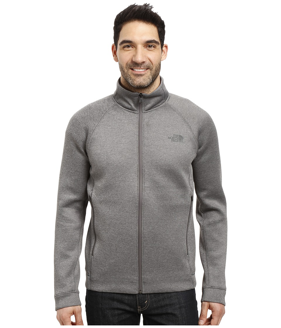 The North Face - Upholder Full Zip (TNF Medium Grey Heather) Men's Fleece