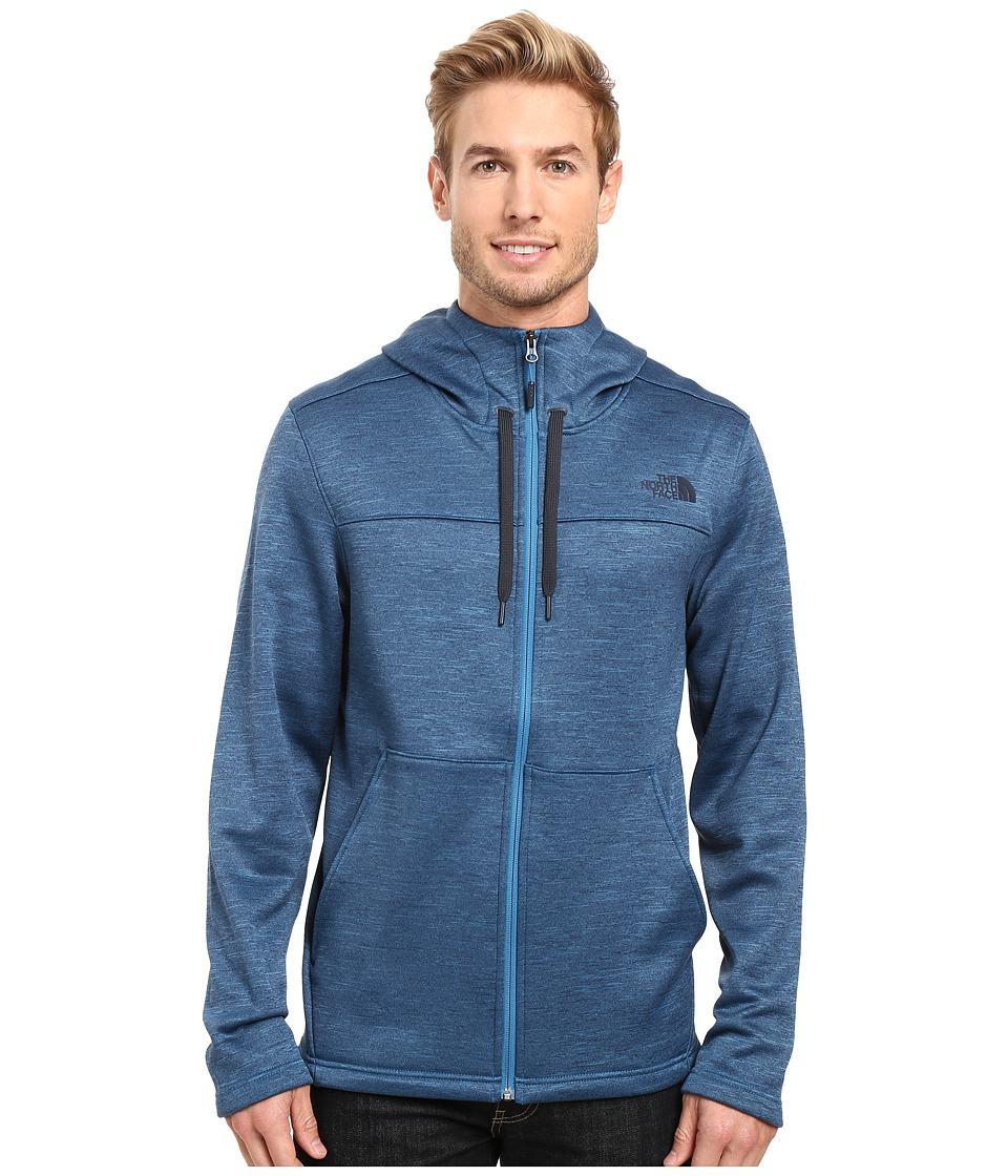 The North Face - Schenley Hoodie (Banff Blue Heather) Men's Sweatshirt