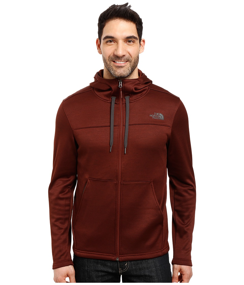 The North Face - Schenley Hoodie (Sequoia Red Heather) Men's Sweatshirt