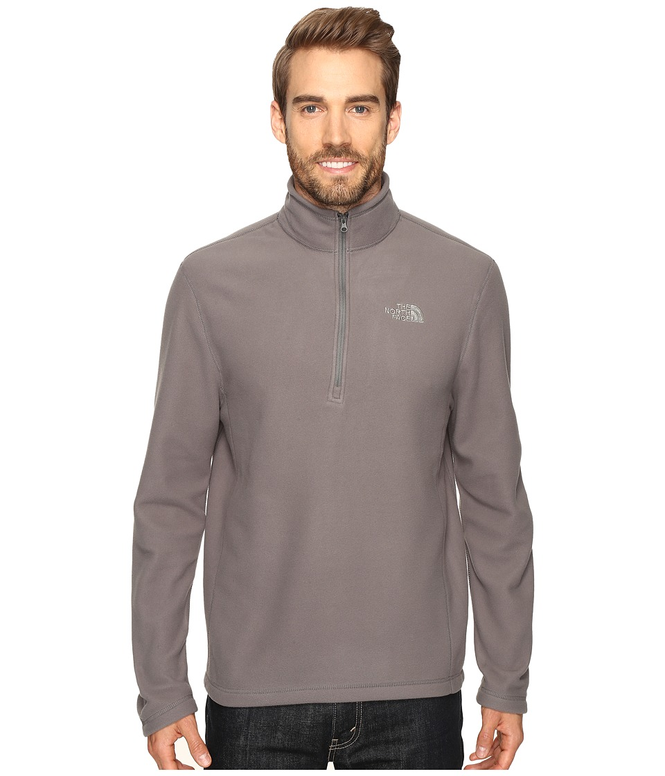 The North Face - TKA 100 Glacier 1/4 Zip (Fusebox Grey) Men's Sweatshirt