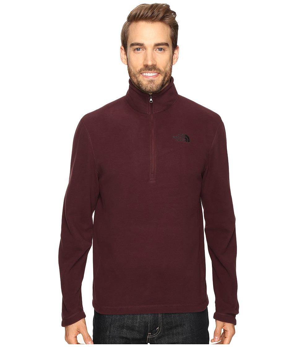 The North Face - TKA 100 Glacier 1/4 Zip (Root Brown) Men's Sweatshirt