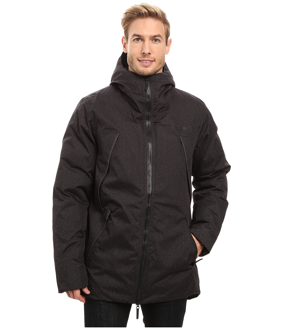 The North Face - Geissler Parka (TNF Black Heather) Men's Coat