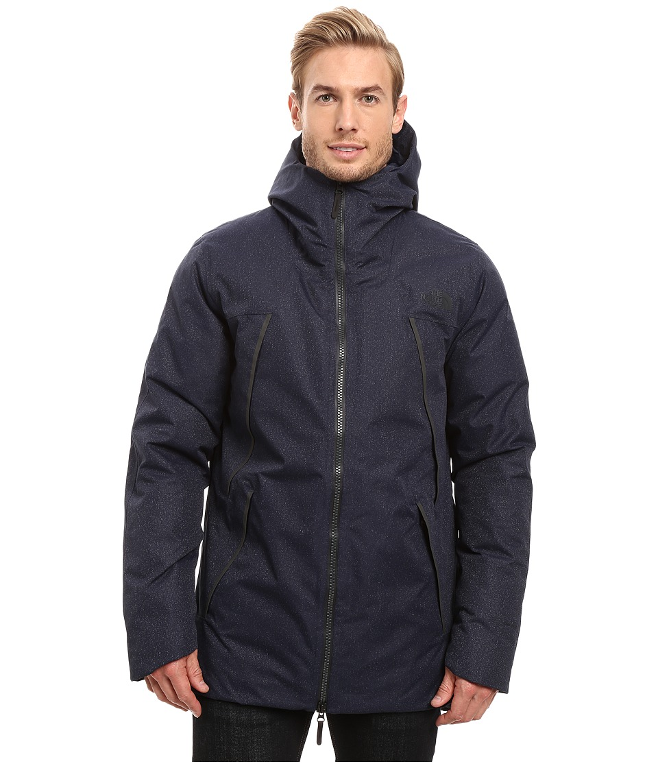 The North Face - Geissler Parka (Urban Navy Heather) Men's Coat
