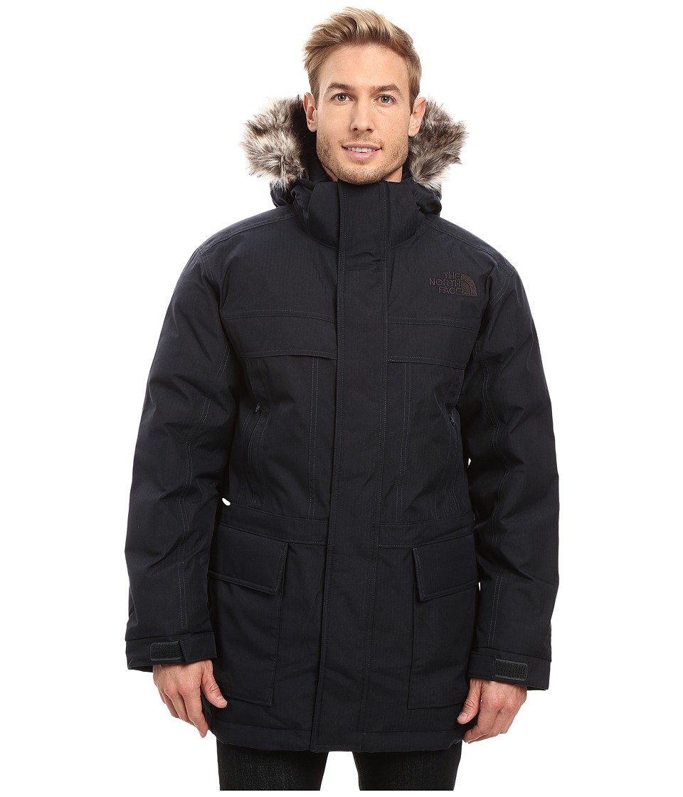 The North Face - McMurdo Parka II (Urban Navy Heather) Men's Coat