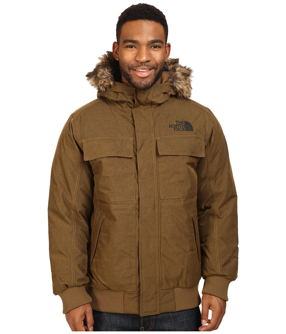 The North Face - Gotham Jacket II (Brown Field Heather) Men's Coat