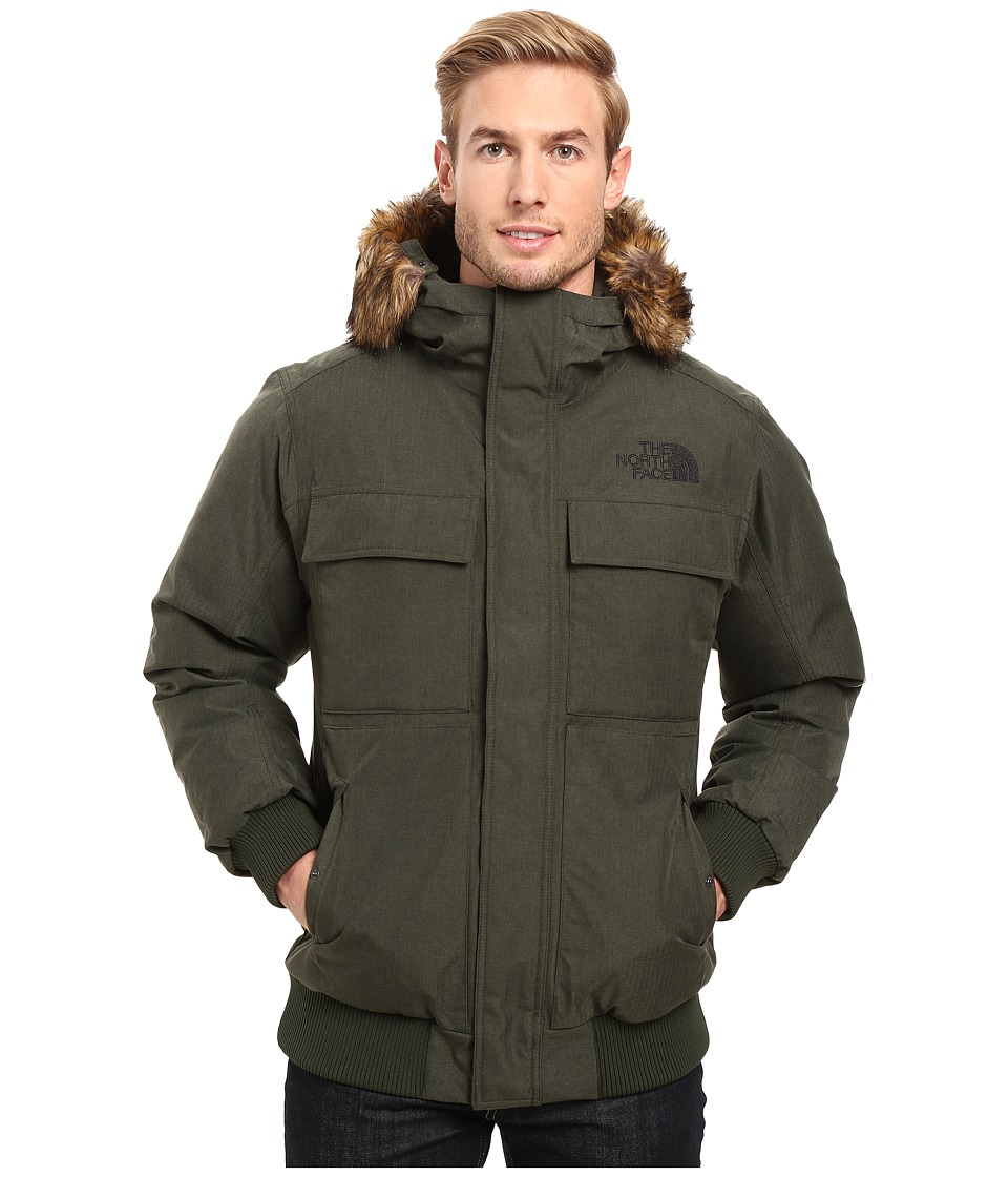 The North Face - Gotham Jacket II (Climbing Ivy Green Heather) Men's Coat