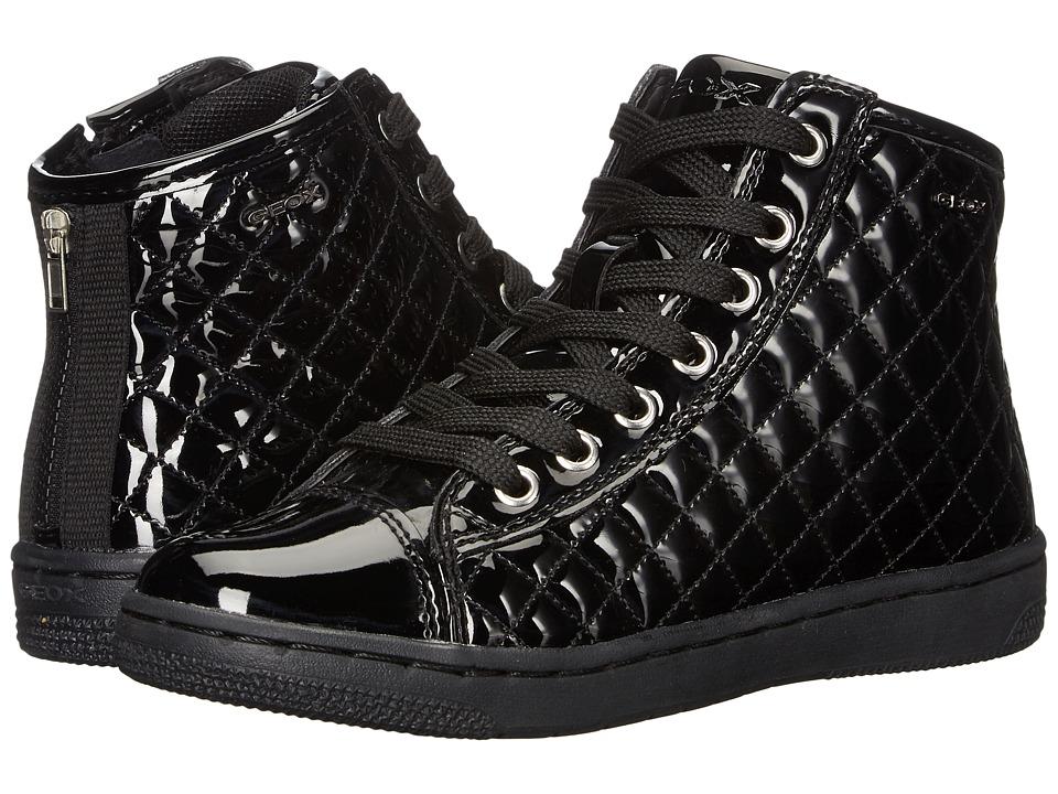 Geox Kids - Jr Creamy 42 (Little Kid/Big Kid) (Black) Girl's Shoes