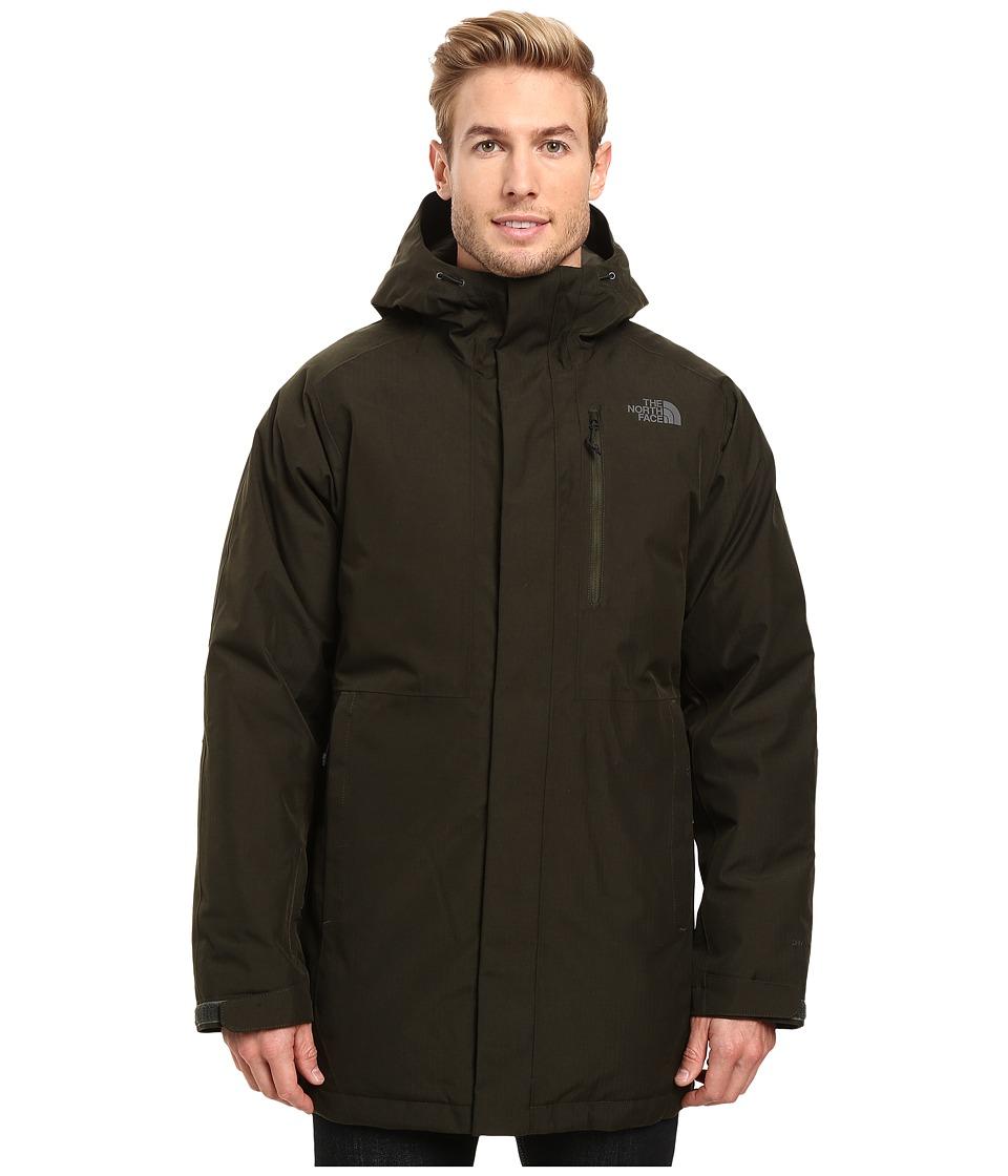The North Face - Mount Elbert Parka (Rosin Green Heather) Men's Coat