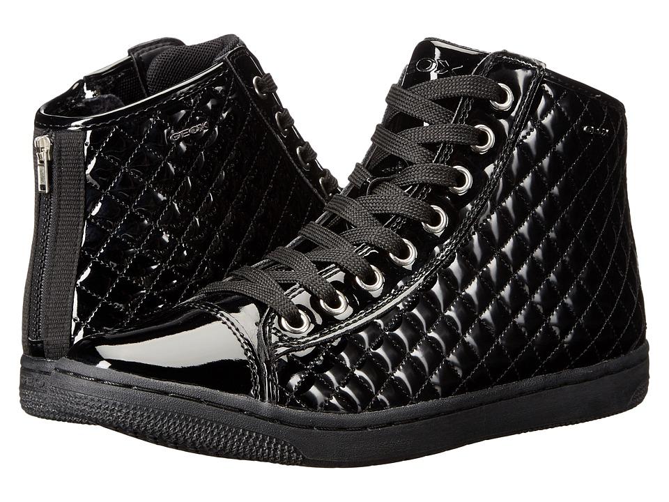 Geox Kids - Jr Creamy 42 (Big Kid) (Black) Girl's Shoes