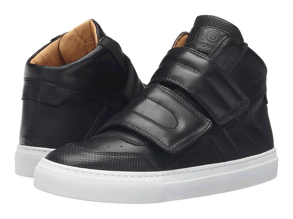MM6 Maison Margiela - High Top (Black/Black Calf) Women's Shoes