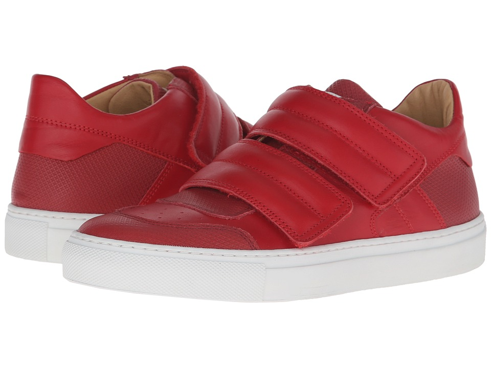 MM6 Maison Margiela - Low Top (Red/Red Calf) Women's Shoes
