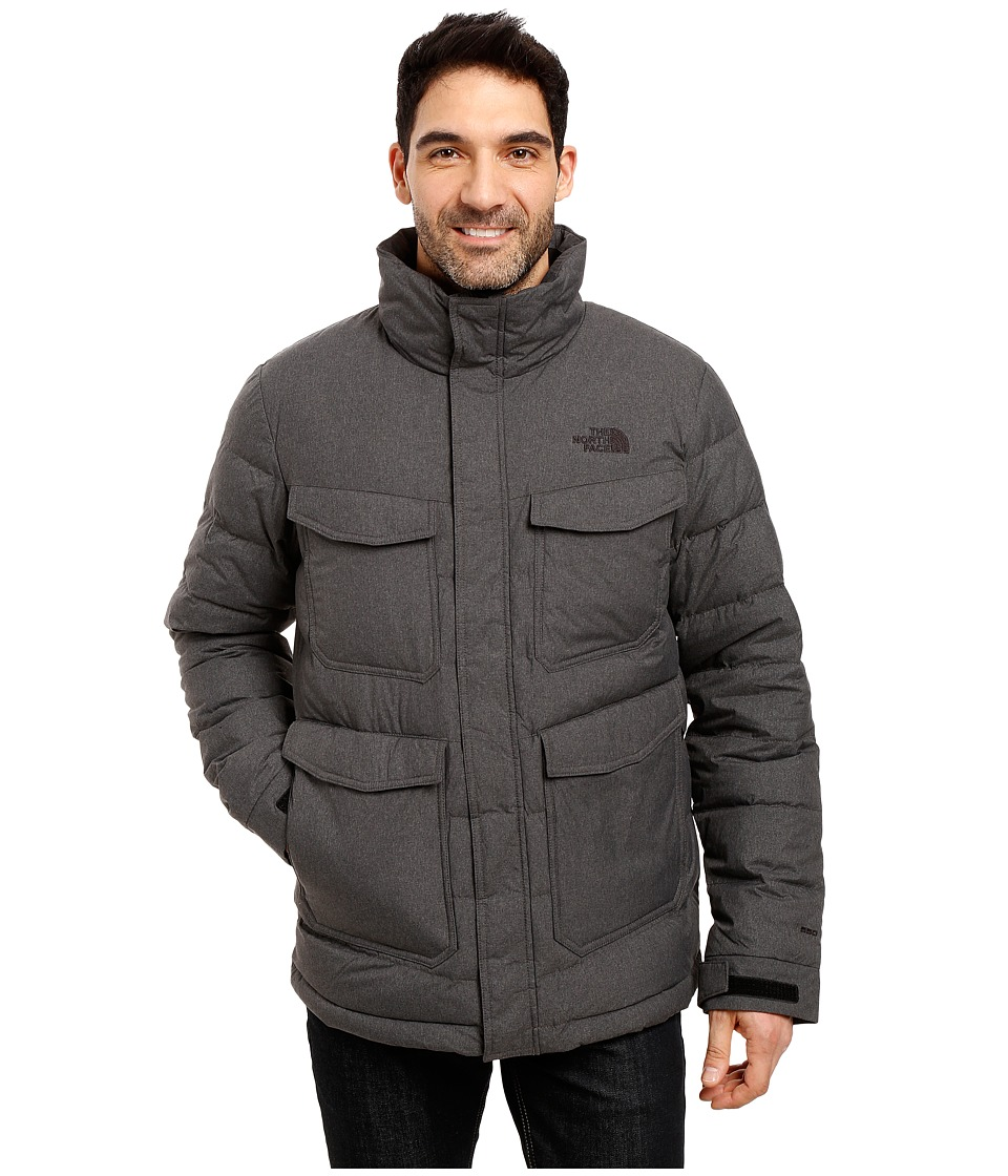 The North Face - Talum Field Jacket (TNF Dark Grey Heather) Men's Coat