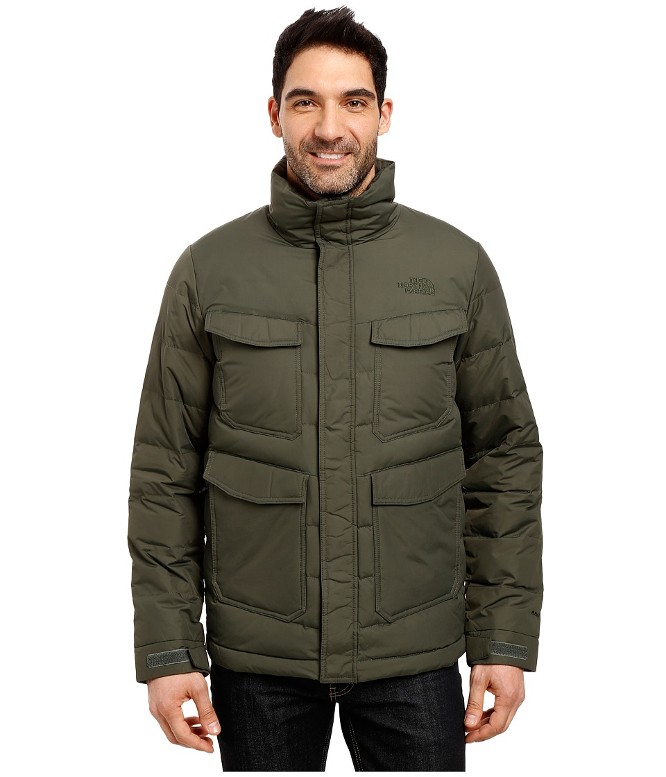 The North Face - Talum Field Jacket (Climbing Ivy Green) Men's Coat